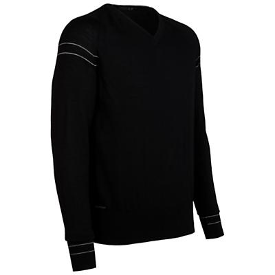 Icebreaker Men's LS Aries V-Neck Sweater