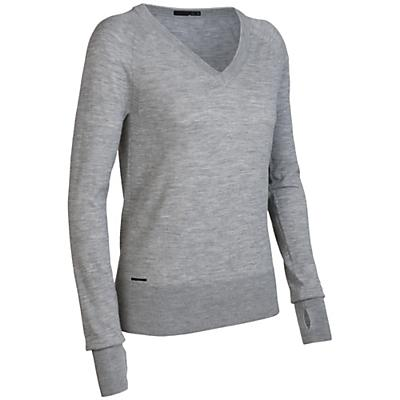 Icebreaker Women's LS Athena V-Neck Sweater