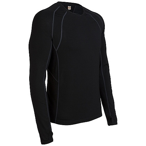 photo: Icebreaker Men's LS Quest Zip long sleeve performance top