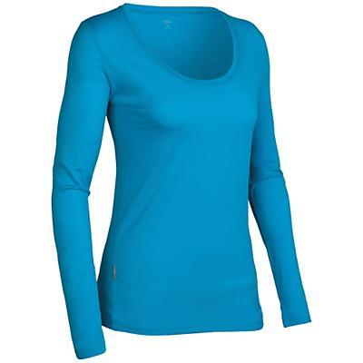 Icebreaker Women's LS Tech Scoop Shirt