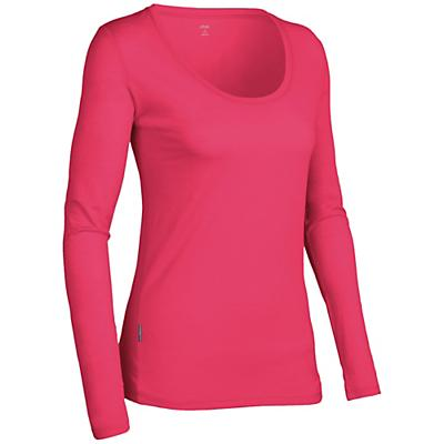Icebreaker Women's LS Tech Scoop Shirt