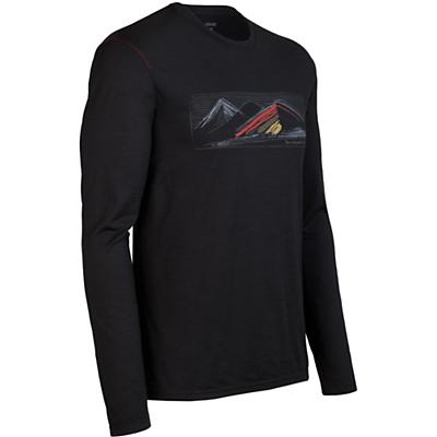 Icebreaker Men's LS Tech T Lite Highland Shirt