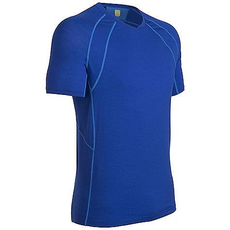 photo: Icebreaker SS Quest Crewe short sleeve performance top