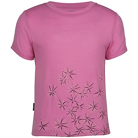 photo: Icebreaker Girls' Tech T Lite short sleeve performance top