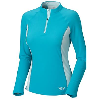 Mountain Hardwear Women's Aliso L/S Zip T Shirt
