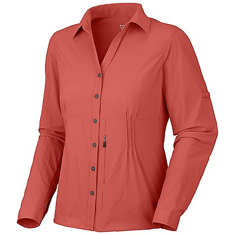 photo: Mountain Hardwear Coralake Long Sleeve Shirt hiking shirt