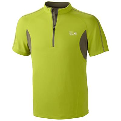 Mountain Hardwear Men's Elmoro S/S Zip T Shirt