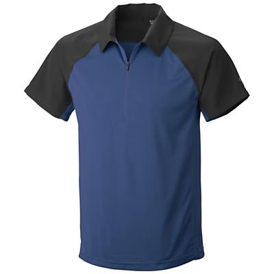 Mountain Hardwear Men's Justo Trek S/S Zip Polo