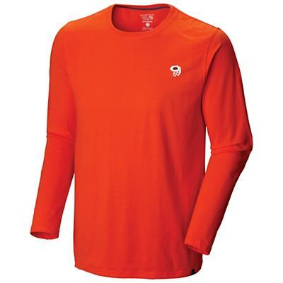 Mountain Hardwear Men's MHW Logo L/S T Shirt