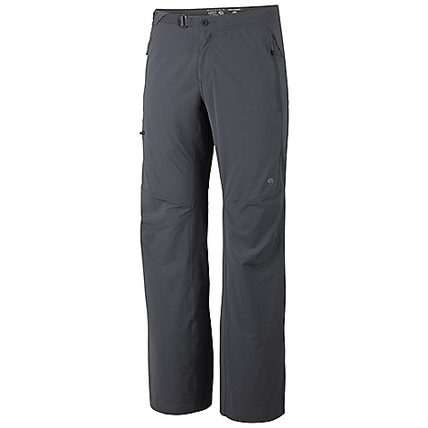 photo: Mountain Hardwear Rifugio Trek Pant soft shell pant