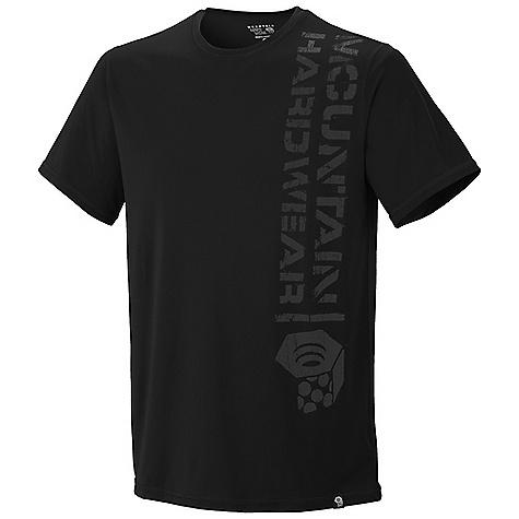 photo: Mountain Hardwear Stencil Logo T short sleeve performance top