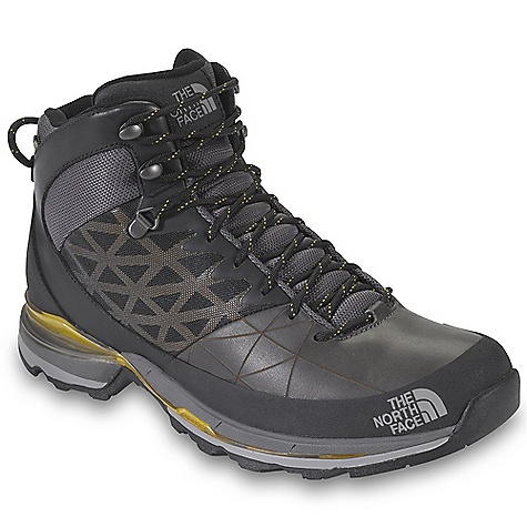 THE NORTH FACE INC The North Face Havoc Mid GTX XCR Men's Boot Shoe, Green/Black/Yellow - 8.5