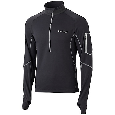 photo: Marmot Men's Deviate 1/2 Zip long sleeve performance top