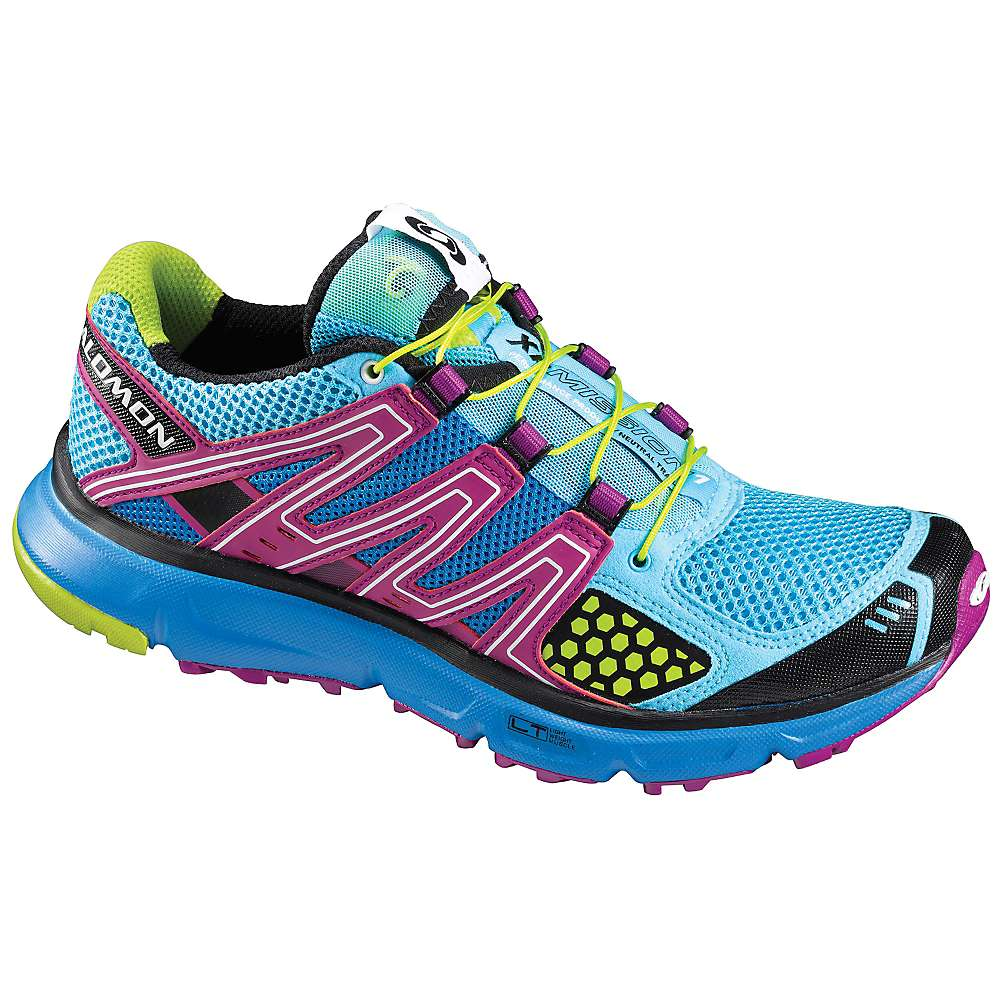 Salomon Women S Xr Mission Running Shoe Celedon Papaya Pop Green