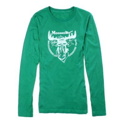Moosejaw Women's Classic Moose LS Tee