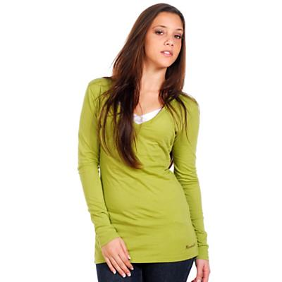 Moosejaw Women's Penny Lane LS V-Neck Slim Fit Tee