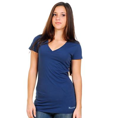 Moosejaw Women's Penny Lane SS V-Neck Slim Fit Tee