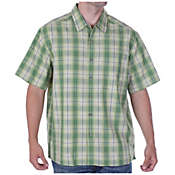 ExOfficio Men's Pisco Plaid S/S Top