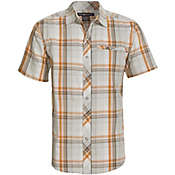 ExOfficio Men's Roughian Macro Plaid S/S Top