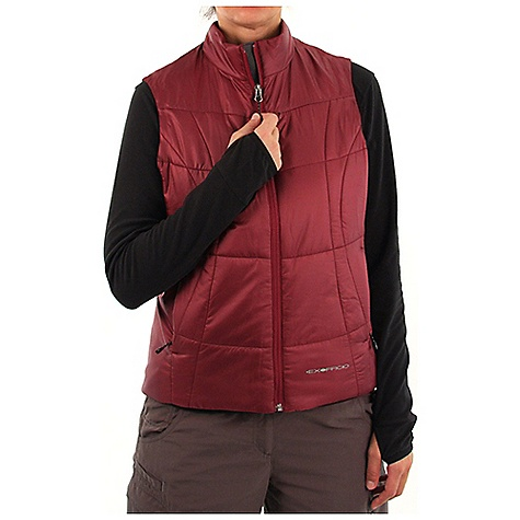 photo: ExOfficio Women's Storm Logic Vest synthetic insulated vest