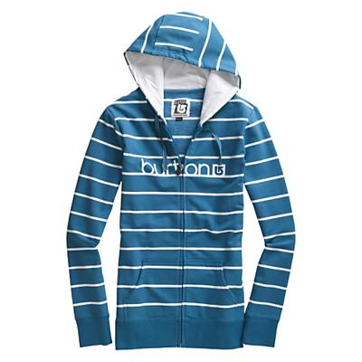 Burton Women's Her Logo Yarn-Dye Basic Full-Zip Hoodie