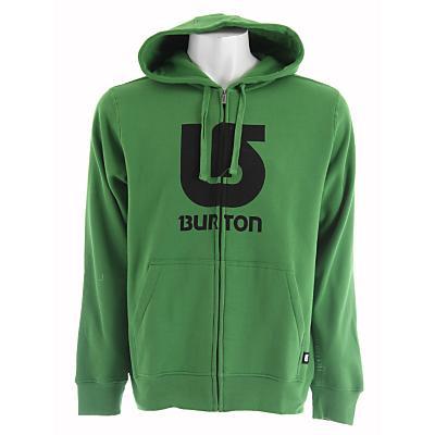 Burton Logo Vertical Fullzip Hoodie - Men's