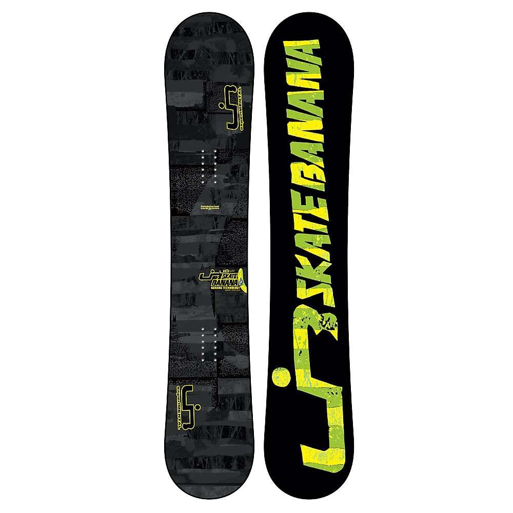 lib tech skate banana btx snowboard grey black 149 2012. Black Bedroom Furniture Sets. Home Design Ideas