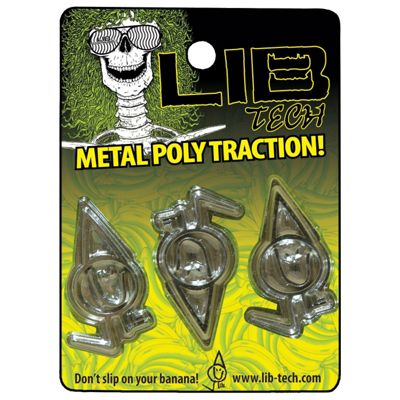 Lib Tech Metal Poly Traction Stomp Pad 2012