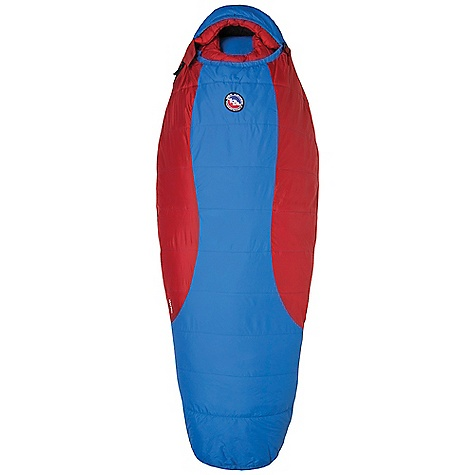 photo: Big Agnes Haybro 15 3-season synthetic sleeping bag