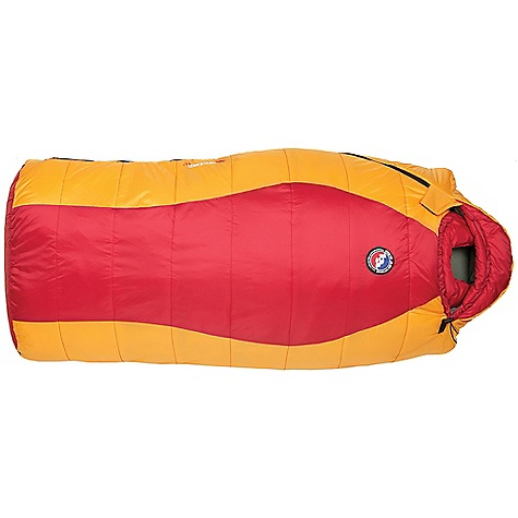 photo: Big Agnes Little Red 15° 3-season synthetic sleeping bag