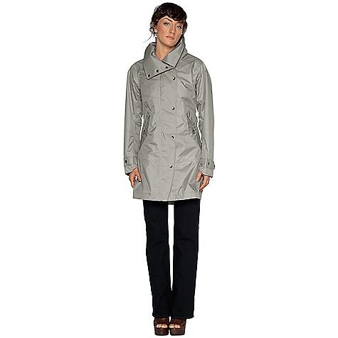 photo: Nau Women's Succinct Trench Coat waterproof jacket