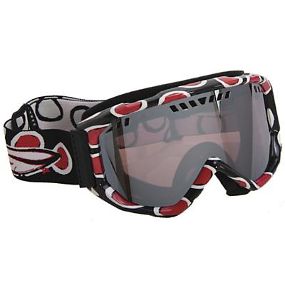 Smith Scope Graphic Goggles Black/Red Dots/Ignitor Mirror Lens - Men's