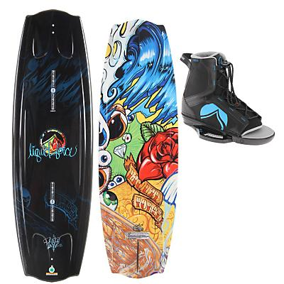 Liquid Force Trip Wakeboard 142 w/ Index Bindings - Men's