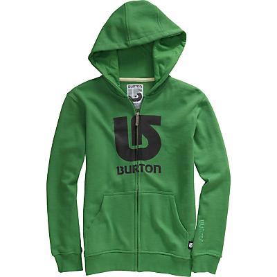 Burton Logo Vertical Fullzip Hoodie - Kid's