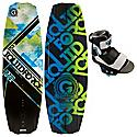 Liquid Force PS3 Wakeboard 137 w/ Domain Bindings - Men's