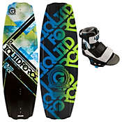 Liquid Force PS3 Wakeboard 141 w/ Domain Bindings - Men's