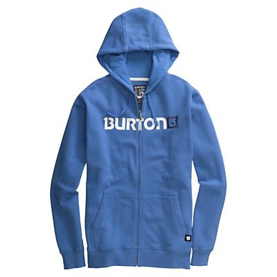 Burton Men's Logo Horizontal Full-Zip Hoodie