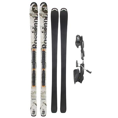 Rossignol S80 Freeride Skis w/ Axium 120L Tpi2 Black Bindings - Men's