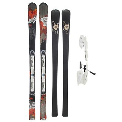 Rossignol Attraxion III Echo Wtpi2 Skis w/ Saphir 110L Bindings - Women's