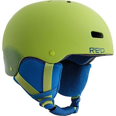 Red Trace Grom Snowboard Helmet 2012- Kid's