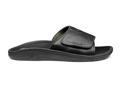 OluKai Men's 'Ohana Leather Slide Sandal