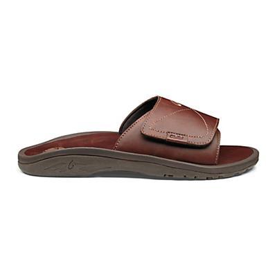 OluKai Men's 'Ohana Leather Slide Sandal