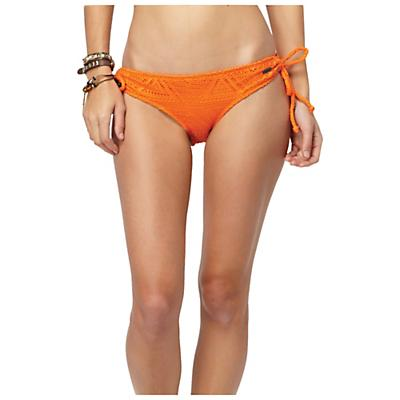 Roxy Women's Native Skye Retro Boy Brief Bikini Bottom