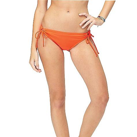 Roxy Women's Surf Essentials 70's Lowrider Tie Side Bikini Bottom
