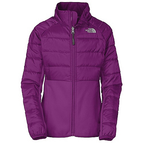 photo: The North Face Girls' Bordon Insulated Jacket synthetic insulated jacket