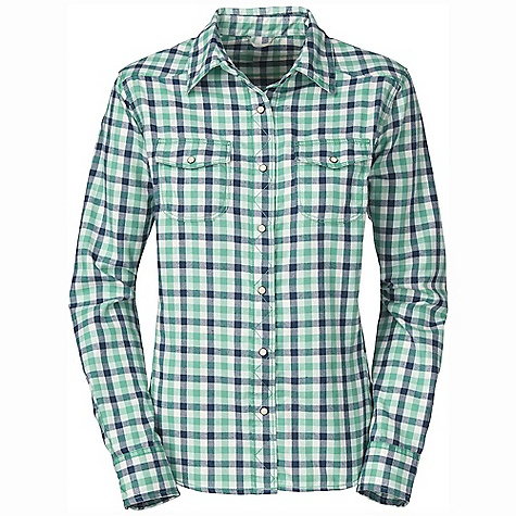 photo: The North Face Violet Flannel hiking shirt