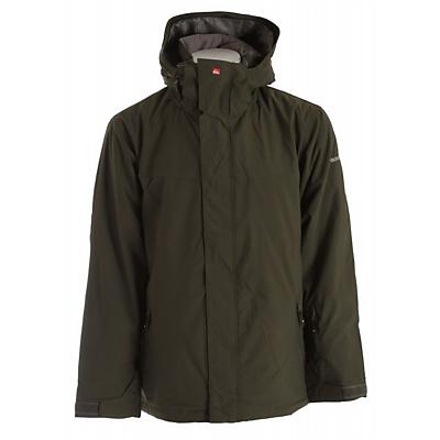 Quiksilver Last Mission Solids Insulated Snowboard Jacket - Men's