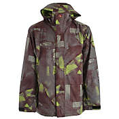 Quiksilver Last Mission Prints Insulated Snowboard Jacket - Men's