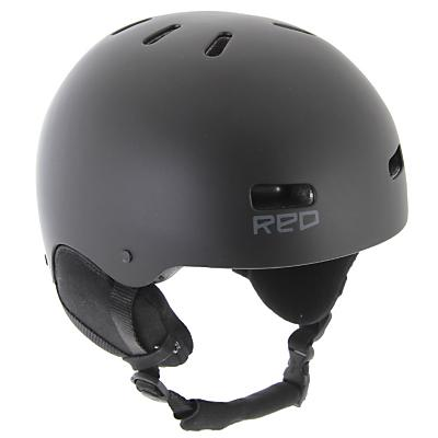 Red Trace II Audio Snowboard Helmet - Men's