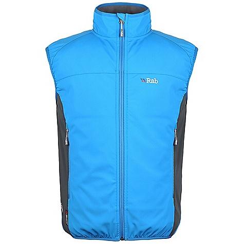 photo: Rab Baltoro Vest soft shell vest